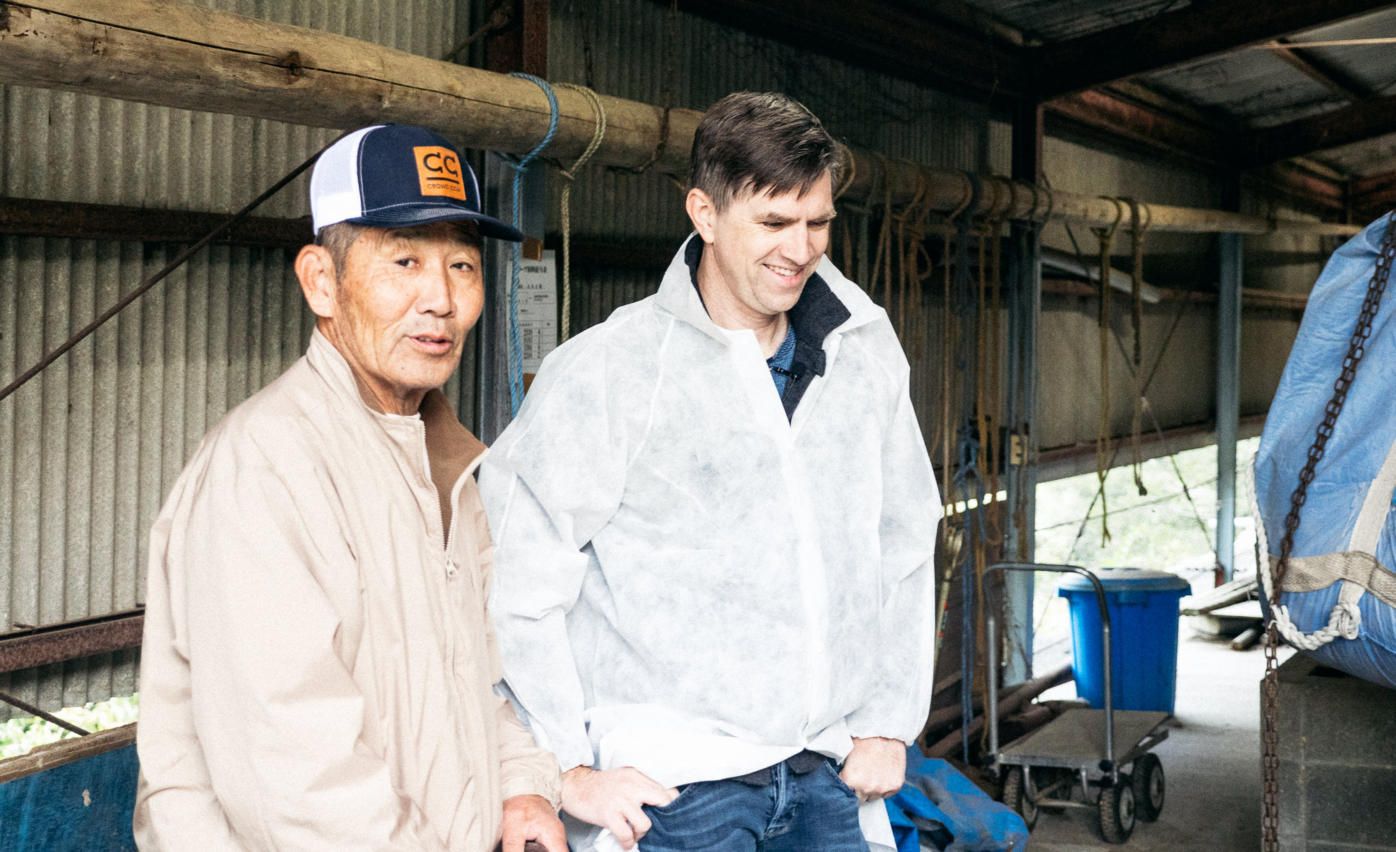 Crowd Cow visits Ishii-san, Olive Beef's inventor